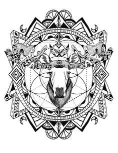 236x305 Wild And Free Spirit Animals