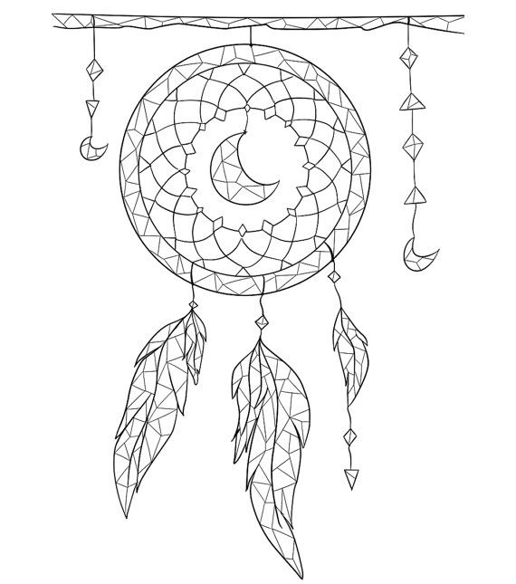 Boho Coloring Pages At Getdrawings Free Download