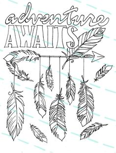 236x311 Boho Chic Ethnic Dream Arrow With Feathers Catch On Drawn