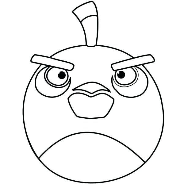 600x600 Angry Birds Coloring Page Angry Bird Coloring Pages Angry Bird