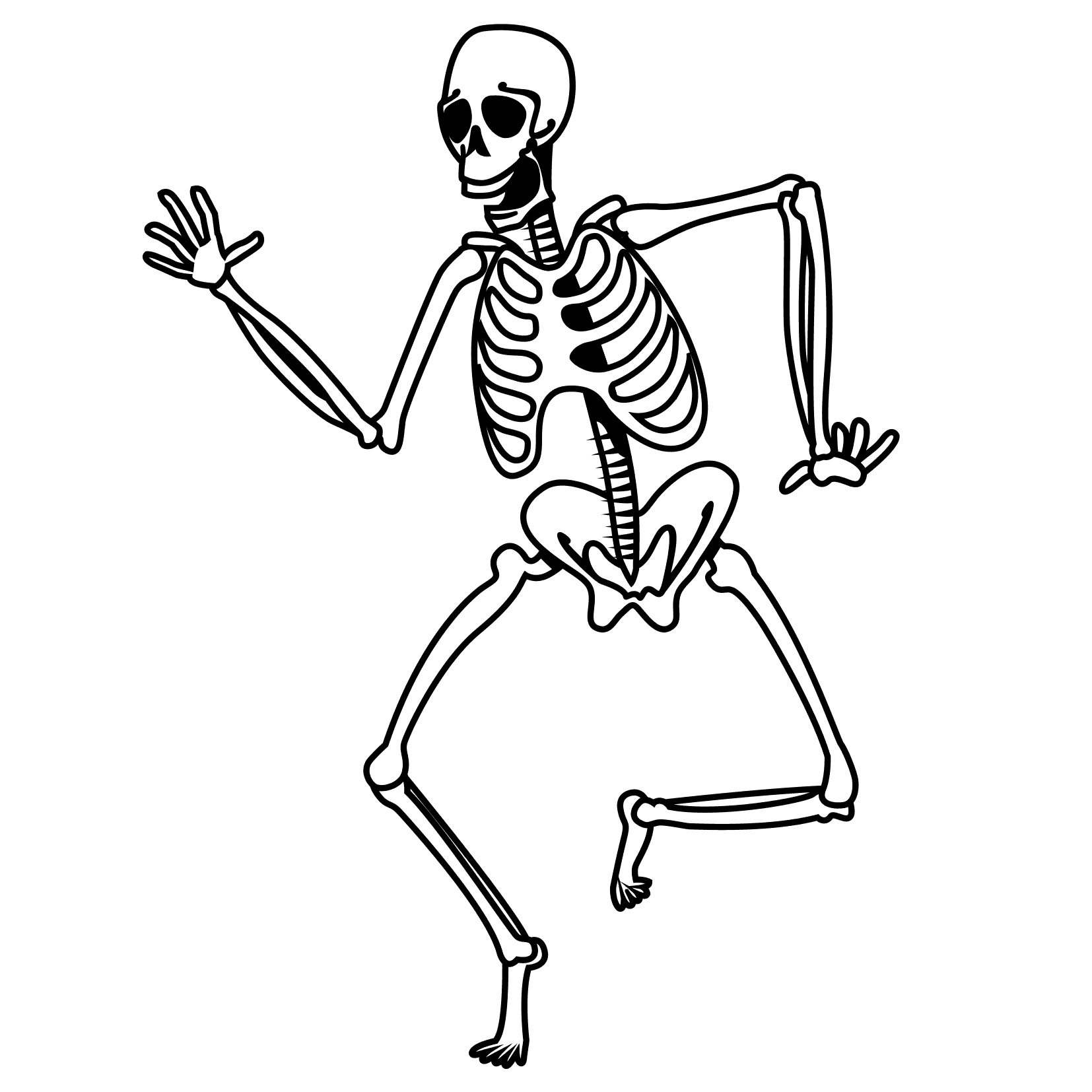 1654x1654 Skeleton Coloring Pages Inspirational Coloring Pages Holidays Free