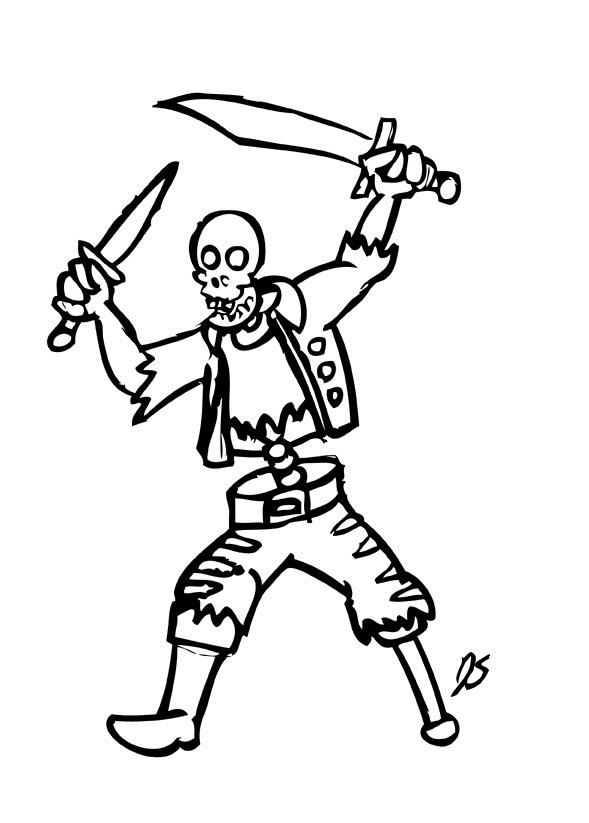 589x823 Skeleton Coloring Pages To Print Printable Skeleton Coloring Pages