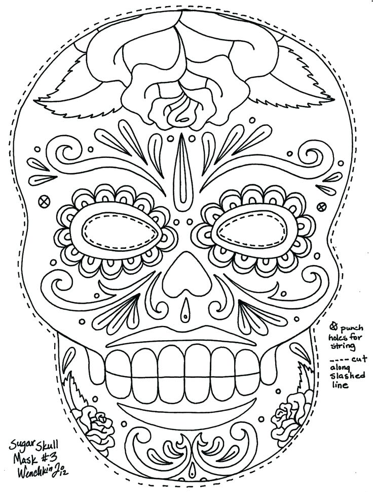 736x969 Skull Coloring Pages Anatomy Skull Coloring Pages Free Printable