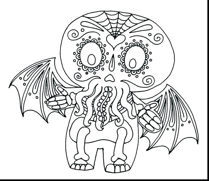 Bones Of The Skull Coloring Pages At Getdrawings Com Free