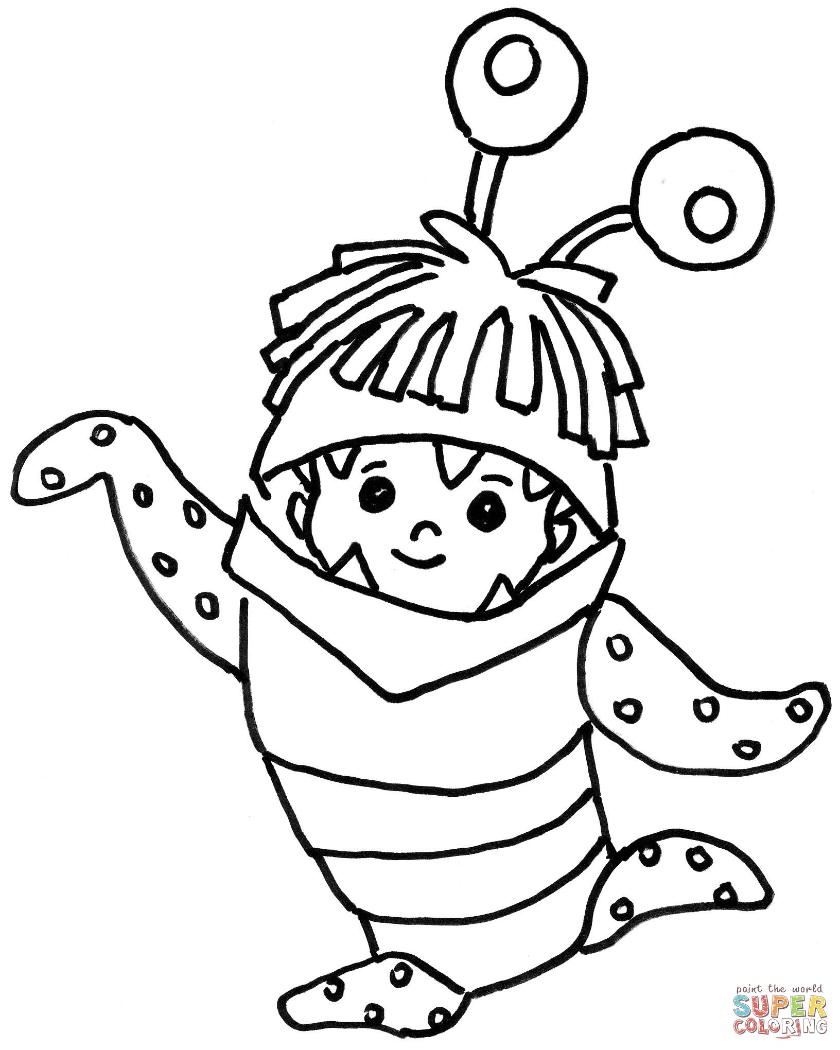 1632x2040 Boo Coloring Pages Color Bros