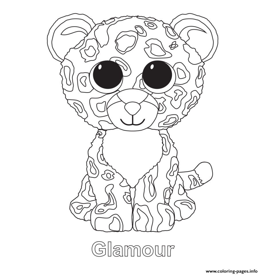 914x960 Glamour Beanie Boo Coloring Pages Printable Amazing Boos