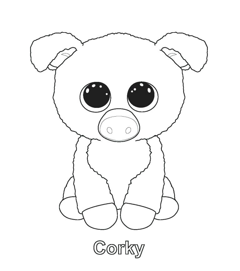 768x867 Beanie Boo Coloring Pages Download Beanie Boo Coloring Pages