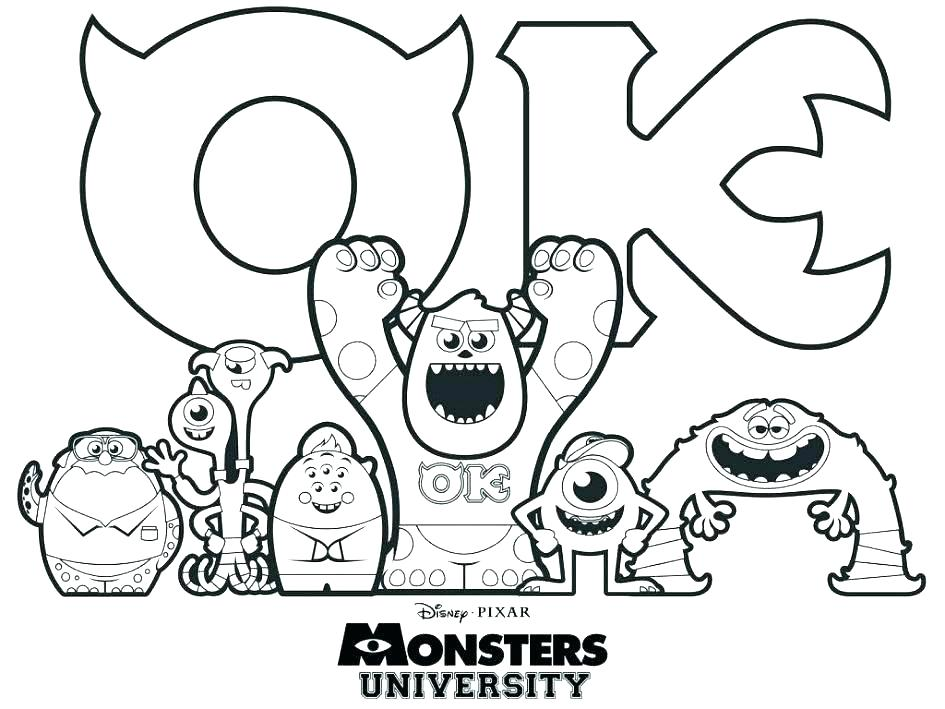 945x709 Best Coloring Pages Images On Coloring Books Monsters Inc Boo