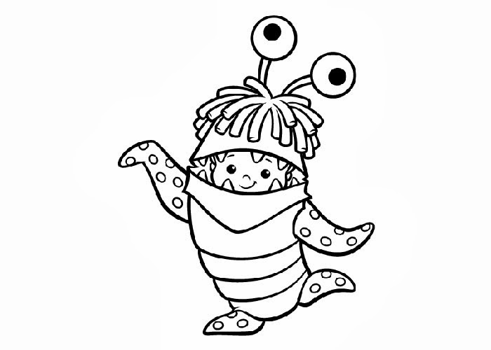 700x500 Monsters Inc Boo Coloring Pages Free Coloring Pages And Coloring