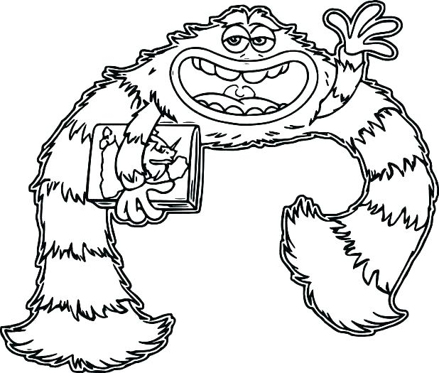 618x525 Monsters Inc Coloring Pages Monsters Inc Coloring Pages P