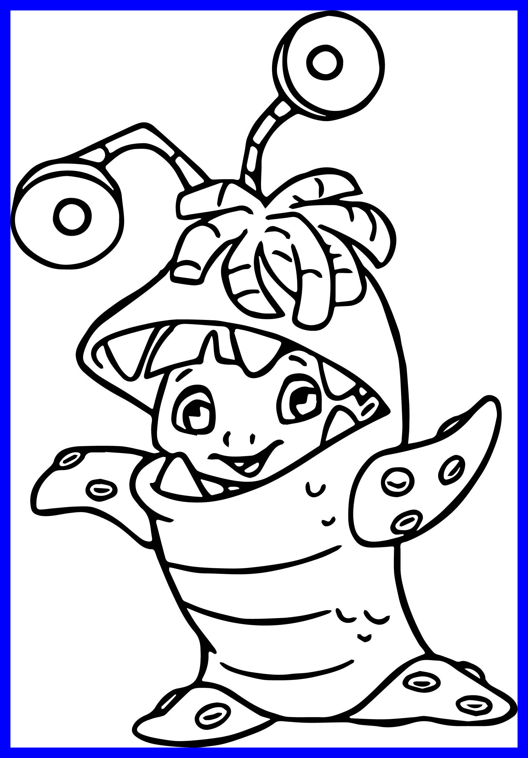 1780x2556 Stunning Character Little Boo Monster Inc Coloring Pages Picture