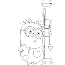 220x220 Despicable Me Coloring Pages