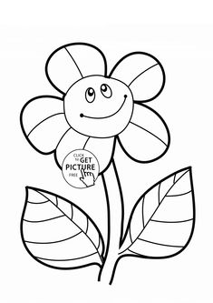 235x333 Realistic Sunflowers Coloring Page For Kids, Flower Coloring Pages