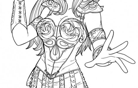 470x300 Xena Warrior Princess Coloring Pages My Coloring Pages