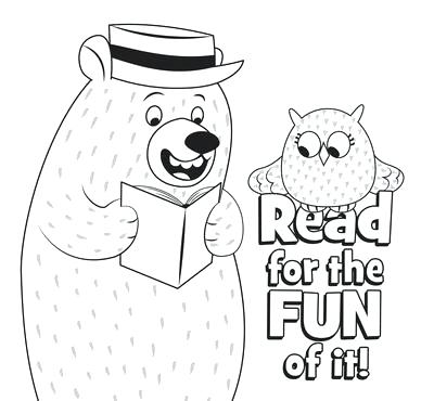 400x370 Fair Coloring Pages Coloring Page Spring Book Fair Elementary Free