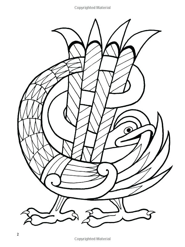 600x800 Book Of Kells Coloring Pages Printable Coloring Book Pages