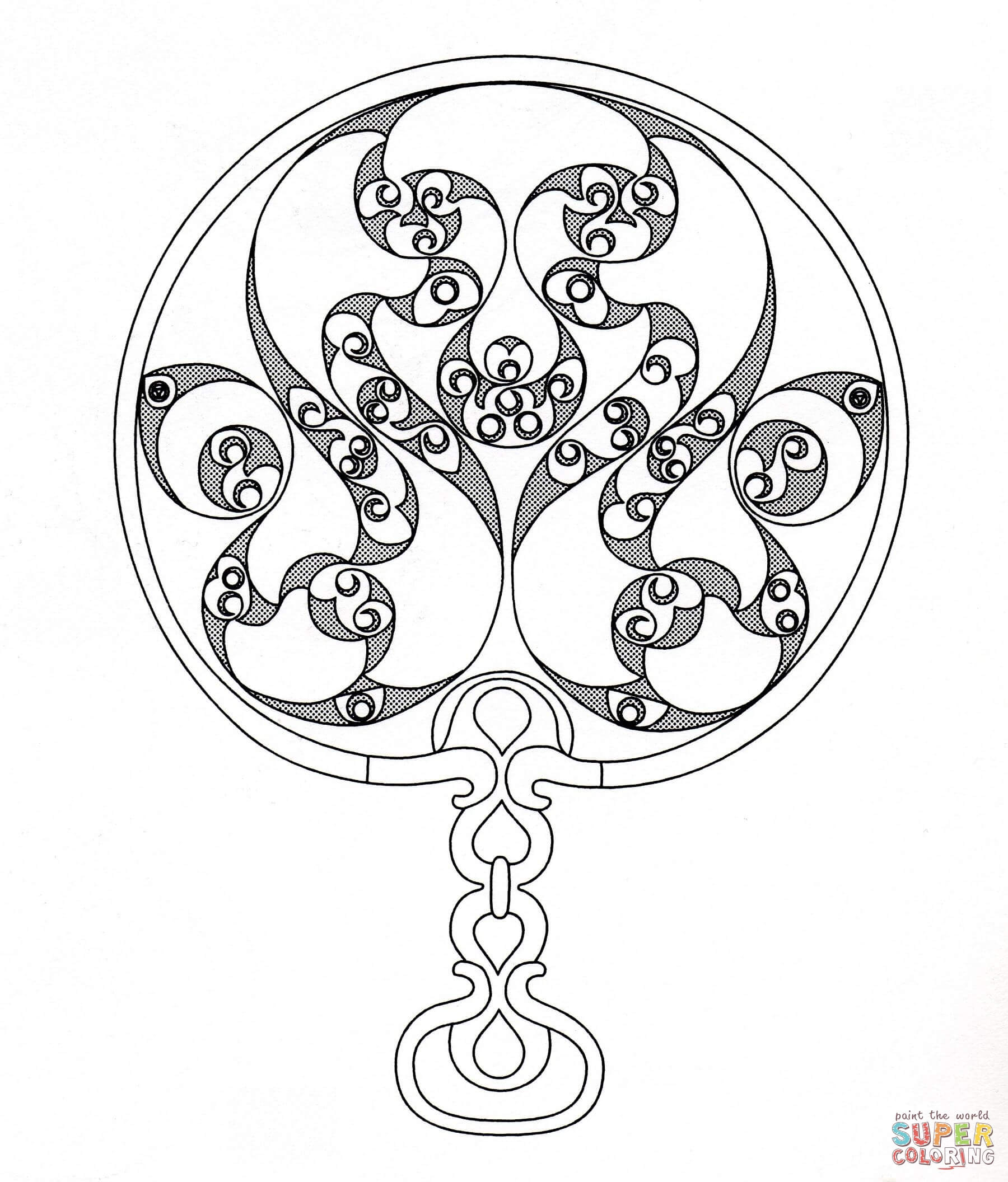 1800x2112 Inspiration Celtic Art Coloring Pages
