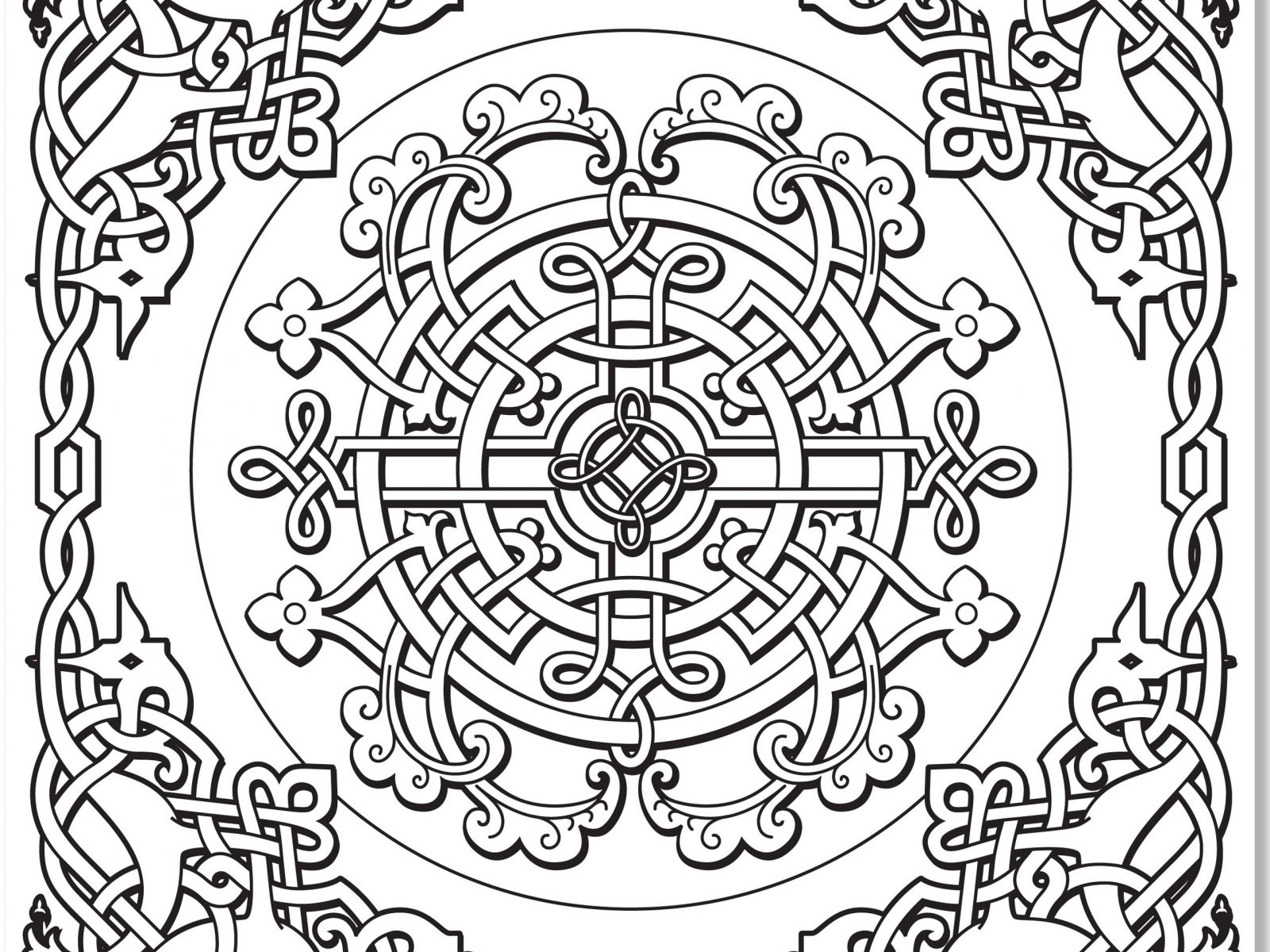 1600x1200 Best Of Free Coloring Pages Book Of Kells Fresh Celtic Designs
