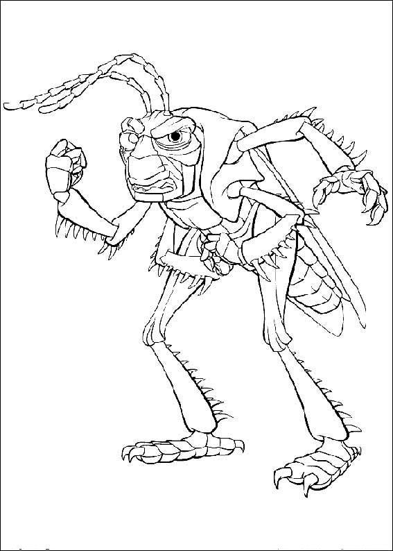 567x794 Bugs Life Coloring Book Archives