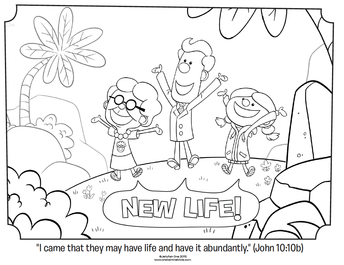 1182x909 New Life John Coloring Page