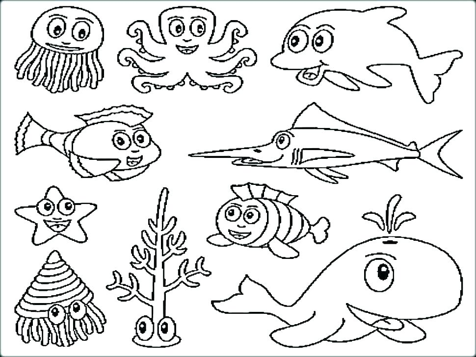 970x728 Sea Coloring Under The Sea Coloring Pages Lost Sea Coloring Book
