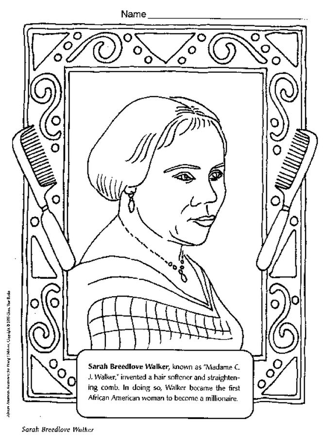 665x900 Inspiring Idea Black History Printable Coloring Pages Best