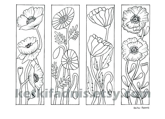 Bookmark Coloring Pages At Getdrawings Com Free For Personal Use