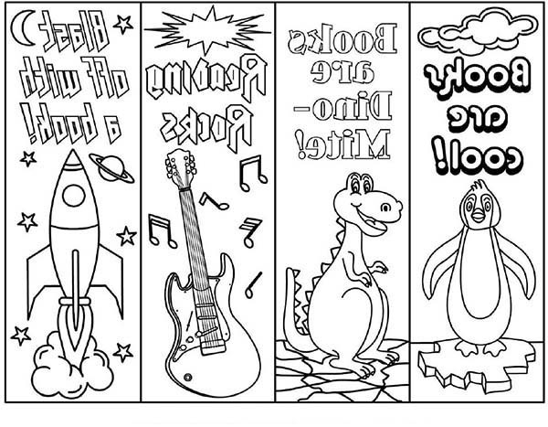image regarding Printable Bookmarks for Kids identify Bookmark Coloring Webpages at  Free of charge for