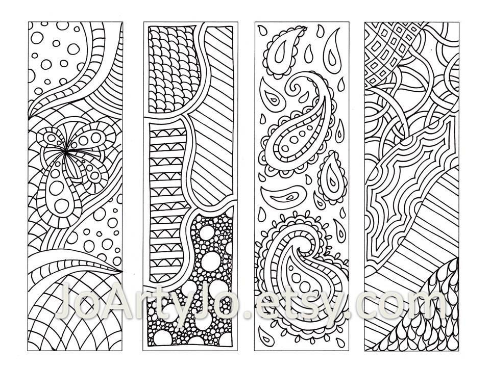 Printable Colouring Bookmarks with Quotes, Coloring Bookmark ... | 720x960
