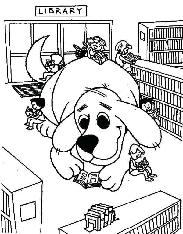 600x766 Library Coloring Page Bookshelf Coloring Page School Subjects