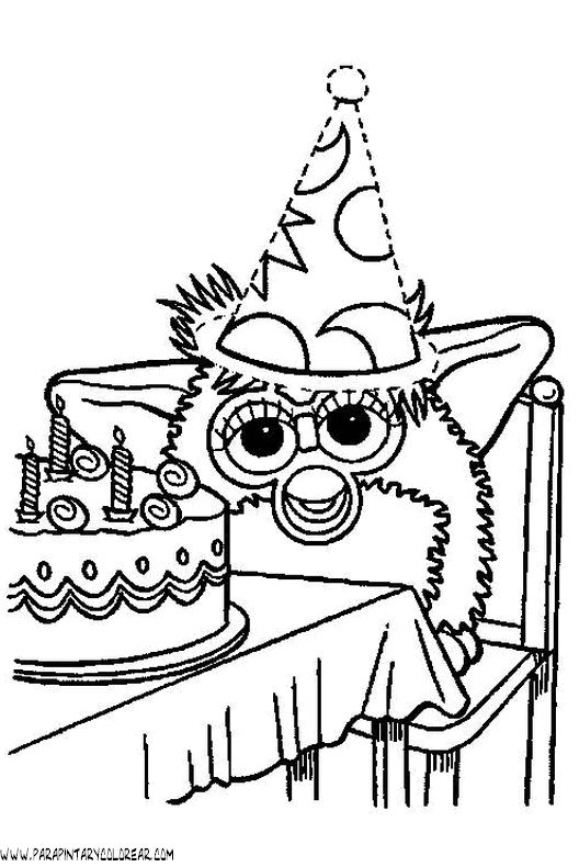 Boom Box Coloring Page