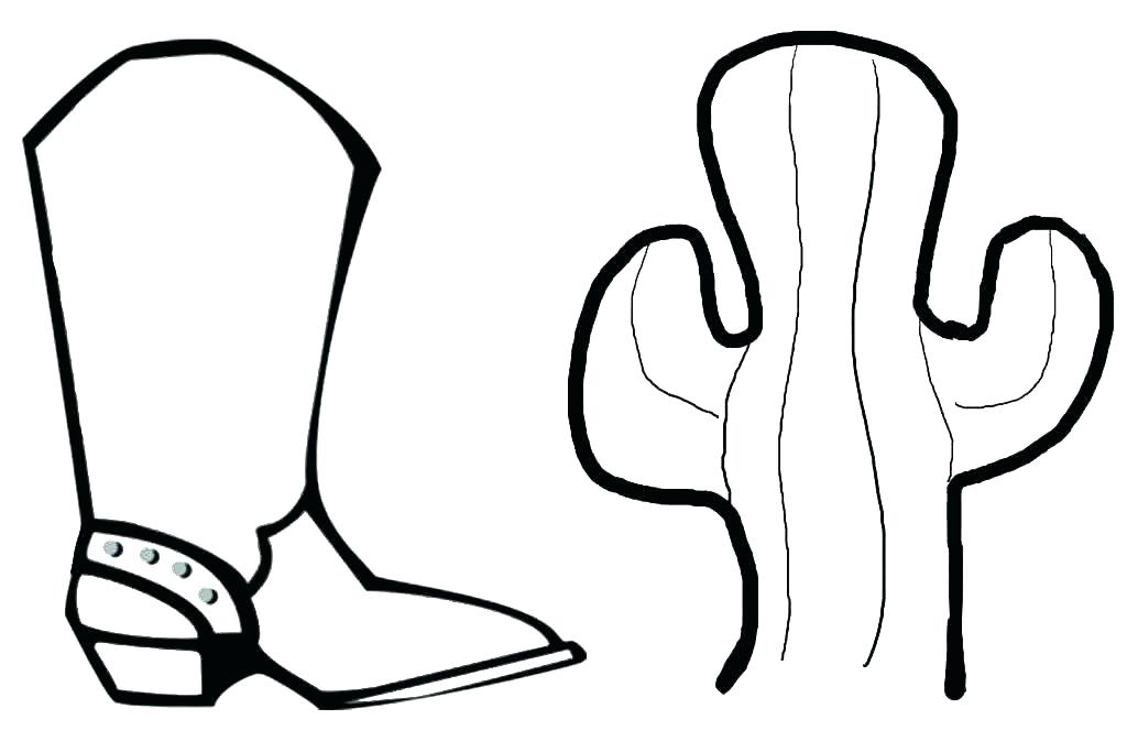 1024x683 Cowboy Boots Coloring Pages Boot Coloring Pages Cowboy Boots