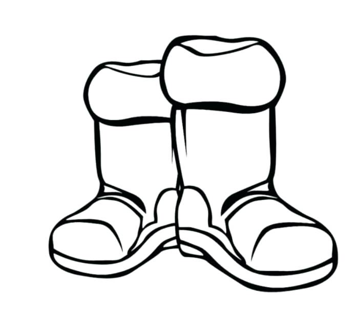699x610 Cowboy Boots Coloring Pages Boots Coloring Page Boot Coloring Page