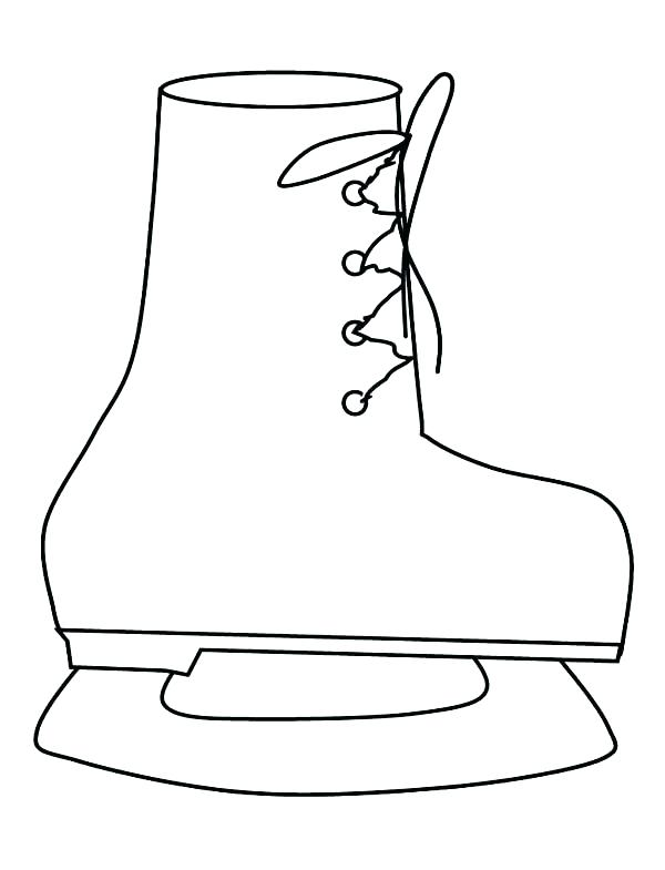 600x785 Boot Coloring Page Leave A Comment Winter Boots Coloring Pages
