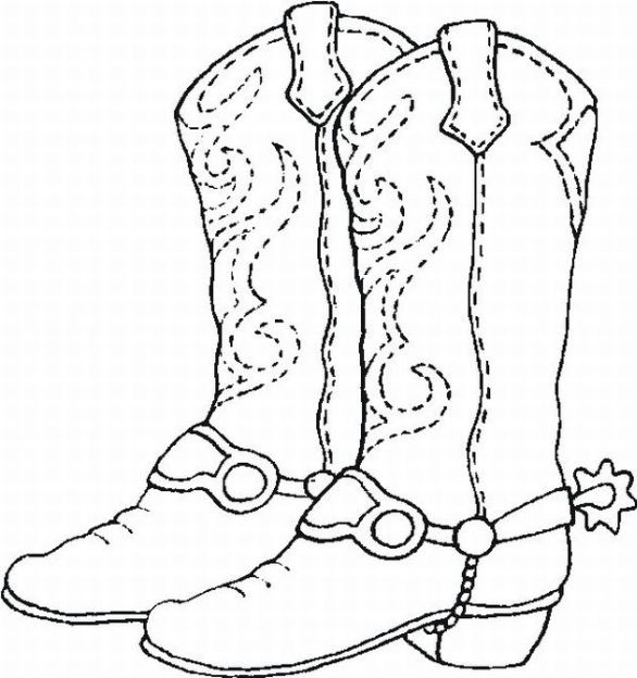 586x624 Boots Coloring Pages Boots Coloring Page