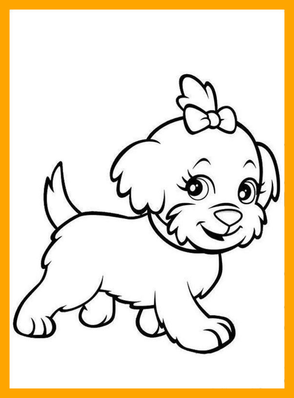 962x1302 Stunning Puppies Dog Coloring Pages Tone Image Of Border Collie