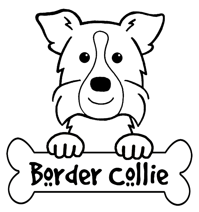 660x705 Collie Coloring Pages Printable Border Collie Coloring Pages