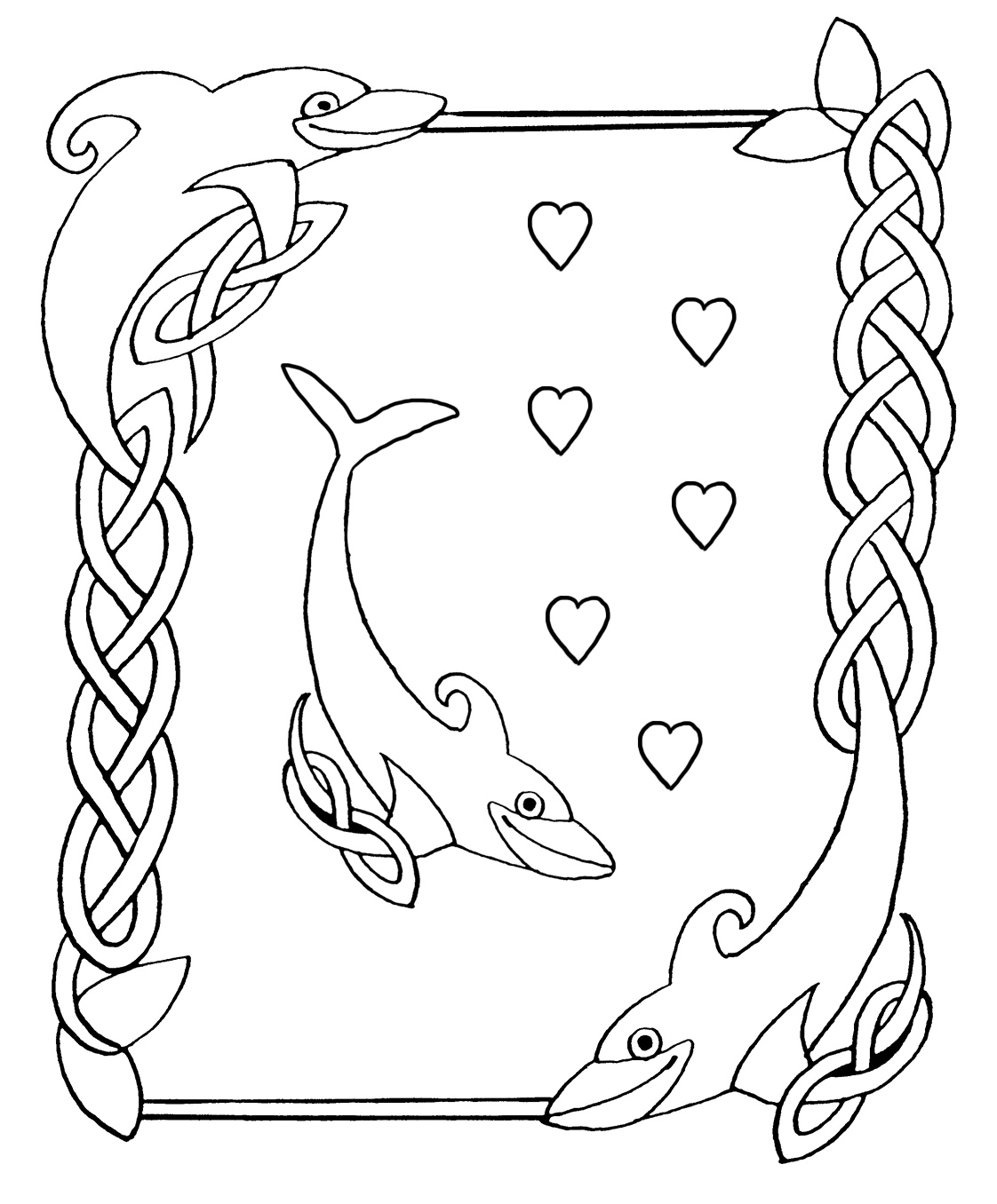 1122x1356 Borders Coloring Page