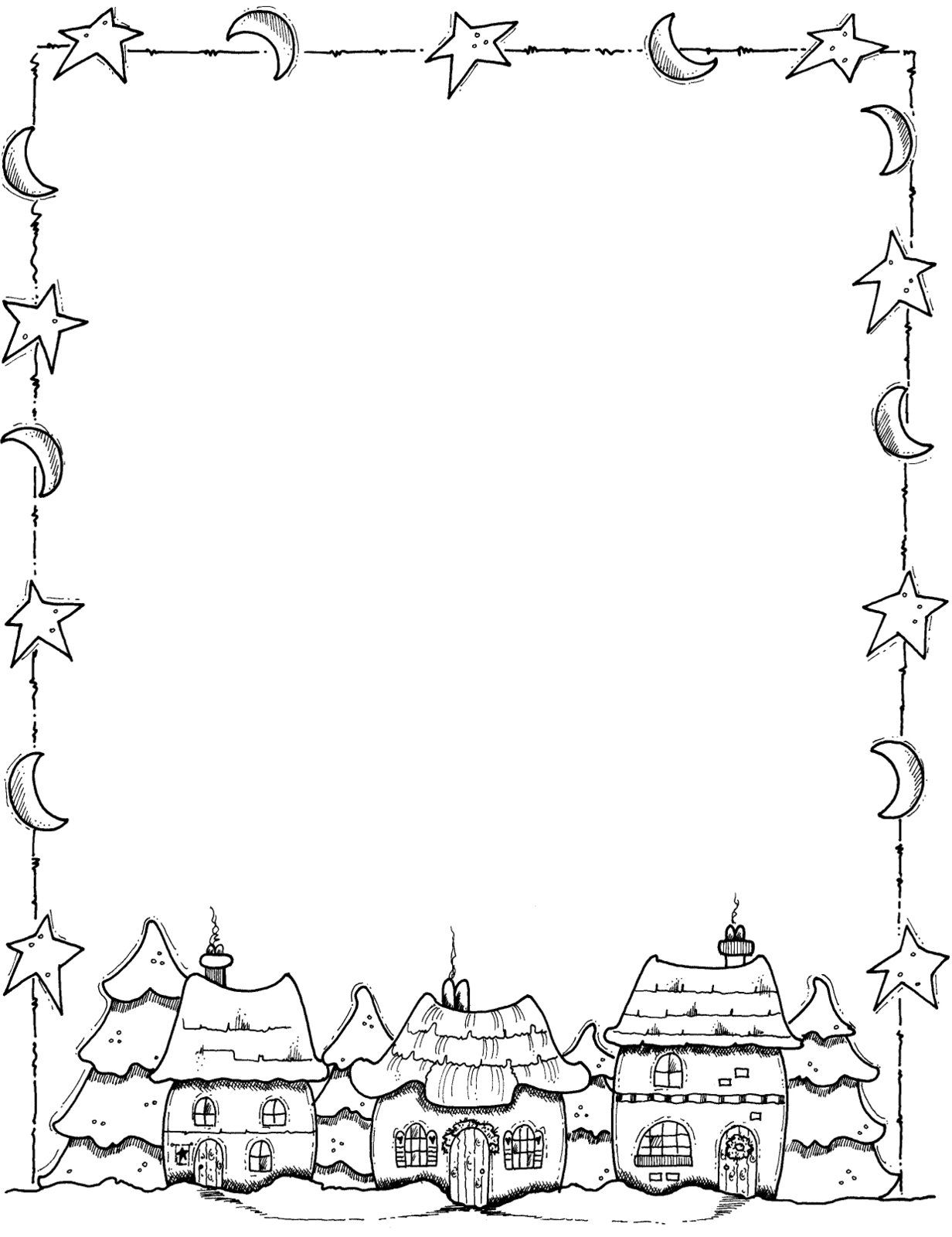 1232x1600 Image Result For Christmas Page Borders Activity Days