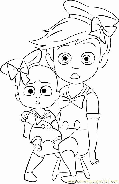 Boss Baby Coloring Pages At Getdrawings Com Free For Personal Use