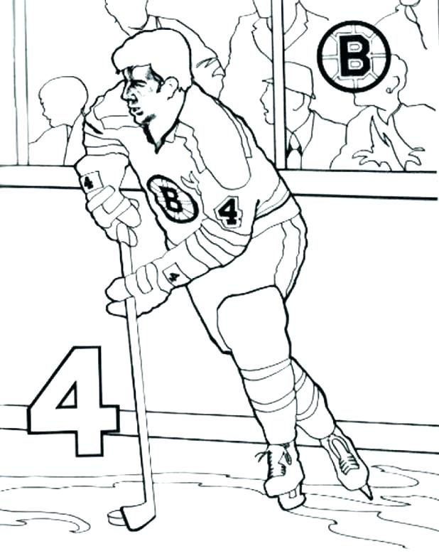 618x782 Boston Bruins Coloring Pages Hockey Coloring Pages Bruins Coloring
