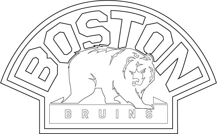 694x428 Boston Bruins Hockey Coloring Pages