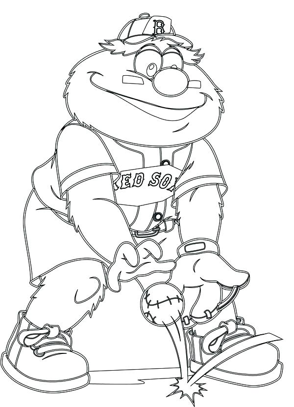 600x828 Boston Red Sox Coloring Pages Red Coloring Pages Red Coloring