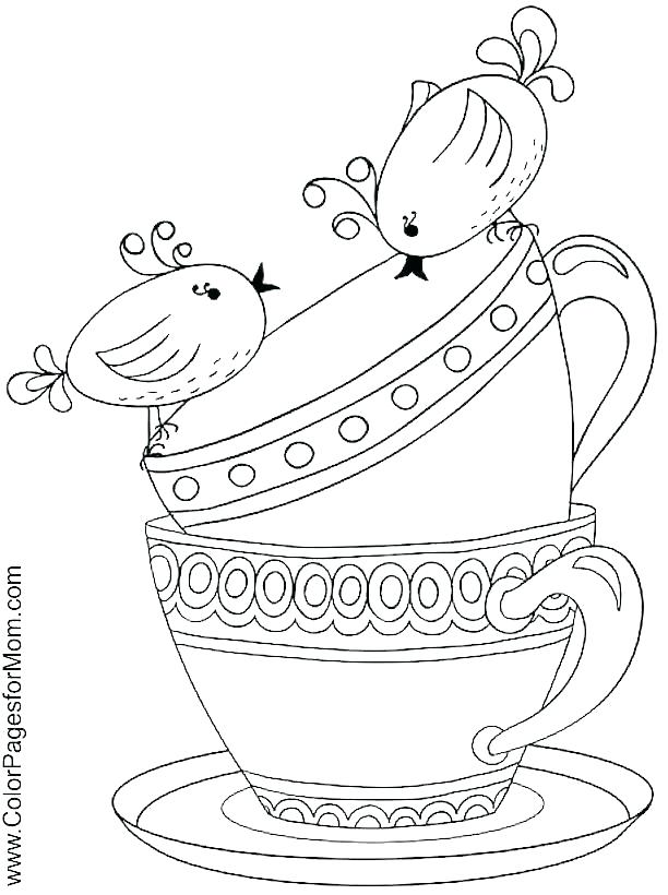 612x820 Boston Tea Party Coloring Pages Tea Party Coloring Page Tea Party