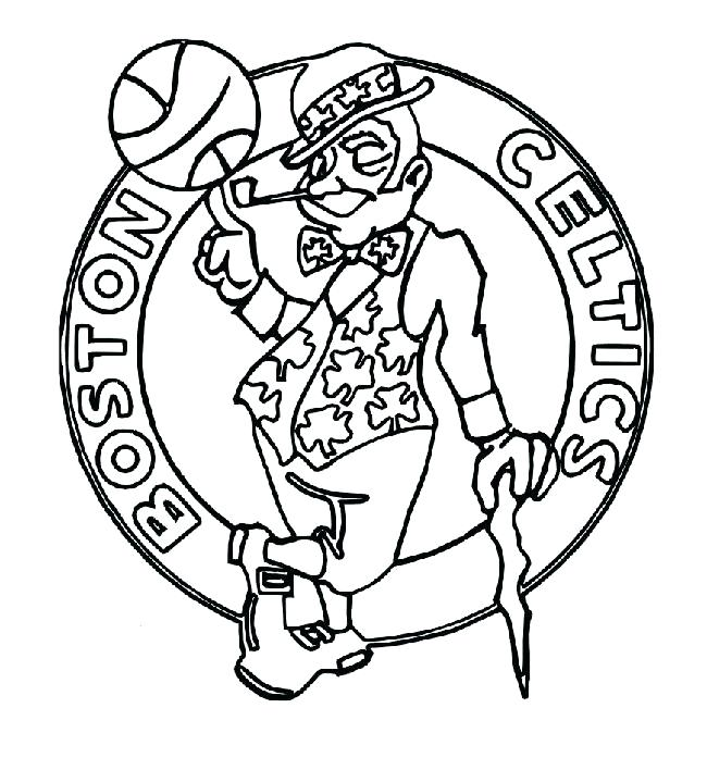 650x708 Boston Celtics Coloring Pages Coloring Pages Coloring Pages