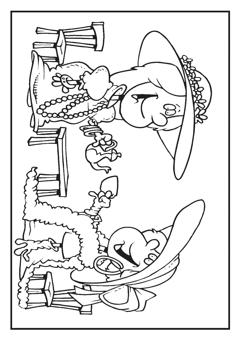 989x1400 Spotlight Free Tea Party Coloring Pages Boston