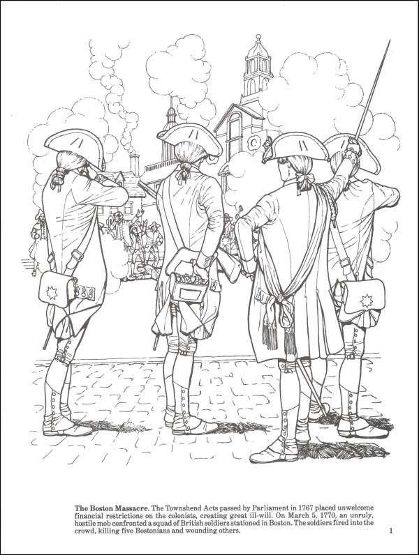 600x796 Story Of The American Revolution Coloring Bk Additional Photo