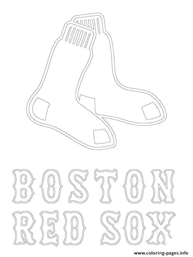 640x853 Boston Bruins Logo Coloring Page