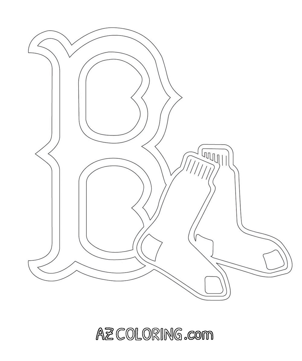 1000x1196 Coloring Pages Of Red Sox New Boston