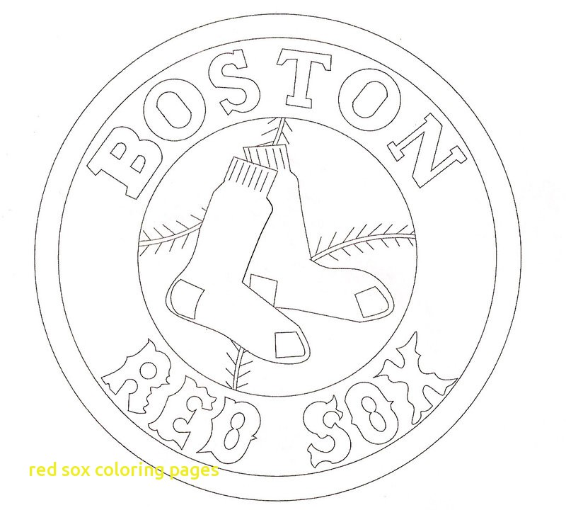 800x720 Red Sox Coloring Pages Red Sox Coloring Pages With Red Sox Logo